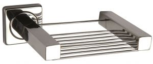 T105111 Soap holder AISI 304 Polished Stainless Steel