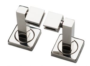 T105114 AISI 304 Polished stainless steel mirror holders