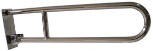 T105305 AISI 304 stainless steel Wall-mounted swing up grab bar