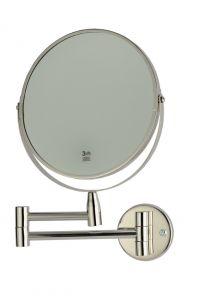 T130110 3x magnifying mirror AISI 304 Polished stainless steel