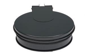 T601012 Bag holder with lid GREY