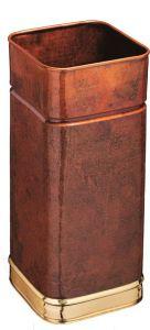 T700107 Portaombrelli quadrato in rame