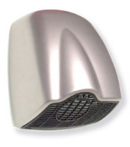T704102 Automatic hand dryer ABS satin grey