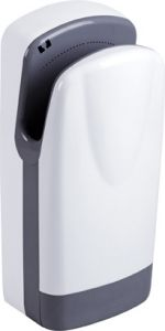 T704205 High performance automatic hand dryer White ABS with HEPA filter