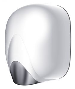 T704325 White ABS High performance automatic hand dryer with heating element