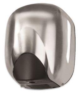 T704362 Automatic hand dryer Brushed aluminium hole heater-free