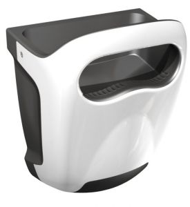 T704400 White ABS High-performance hand dryer