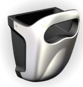 T704412 Vandal proof High-performance hand dryer grey LUX VERSION