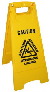 T705020 Wet floor sign (Pack of 5 pieces)