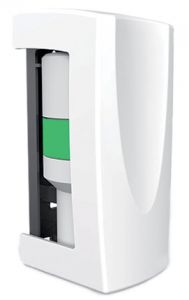 T707056 Natural scent dispenser V-Air® MVP multi-phasing passive dispenser white ABS