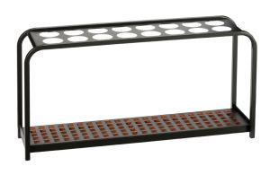 T714029 Portaombrelli metallo nero 16 posti
