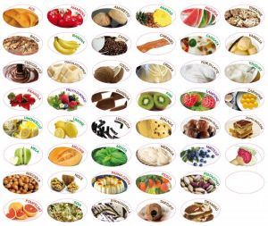 ITP379  50 Label electrostatic for flavor taste ice cream