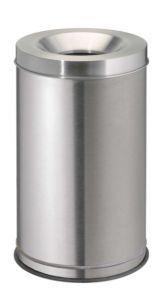 T770040 Gettacarte antifuoco acciaio inox satinato 120 litri