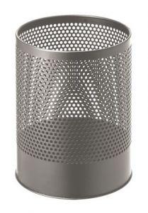 T770112 Perforated paper bin Grey steel 14 liters