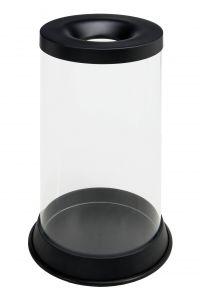 T774021 Gettacarte trasparente antifuoco 80 litri