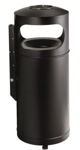 T776001 Fireproof ashbin for outdoor areas 110 liters
