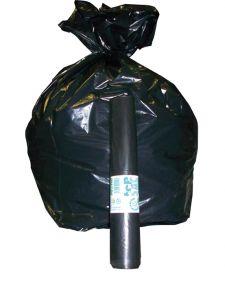 T798080 One roll of 10 bags black 130 liters (x 20 rolls)