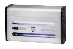 T903004 Stainless Steel 30 Watts Glue board flying insect killer in neon Insettivor Neon