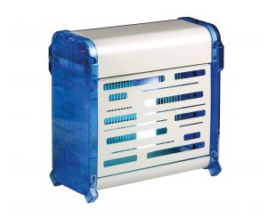 T903072 Flying insect killer with electric grid White coated-blue Insettivor Fluo 20 W