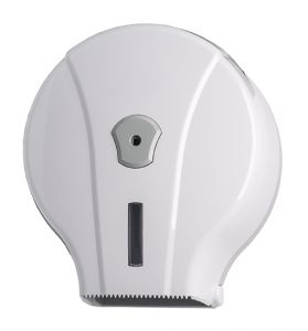 T908001 Distributore carta igienica in ABS bianco 200 metri