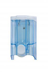 T908140 Distributore di sapone liquido push ABS blu 0,5 litri