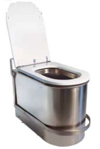 LX3120 Anti-flooding toilet with non-return damper with safety lock 600x340x420 mm