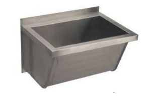LX1820 Washbasin 1400x500x350 mm AISI 304 - SATIN