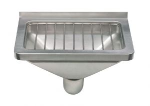 LX1900 Washbasin 1400x500x350 mm AISI 304 - SATIN