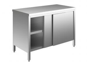 EU03300-20 tavolo armadio ECO cm 200x70x85h  piano liscio - porte scorrevoli