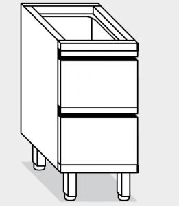 15200.04 Componibile cassettiera c2 g40 cm 40x70x81h