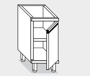16700.04 Componibile armadietto p/battente g40 cm 40x70x81h ripiano intermedio