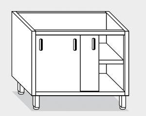 18301.19 Componibile armadio p/scorrevoli g40 cm 190x70x81h ripiano intermedio