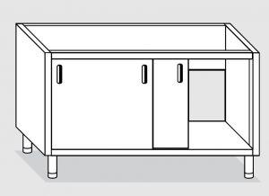 27900.19 Componibile lavatoio armadio p/scorrevoli agi cm 190x70x81h