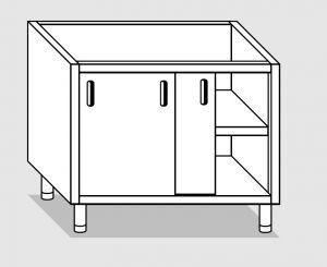 28300.13 Componibile armadio p/scorrevoli agi cm 130x60x81h ripiano intermedio