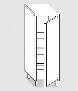 34200.05 Armadio verticale past cm 50x60x160h porta a battente - 3 ripiani interni regolabili