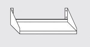 63803.05 Ripiano a parete porta forno cm 50x50x30h